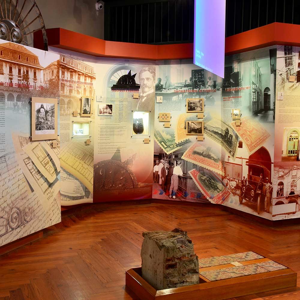Salas de exhibición | Museo del Canal Interoceánico