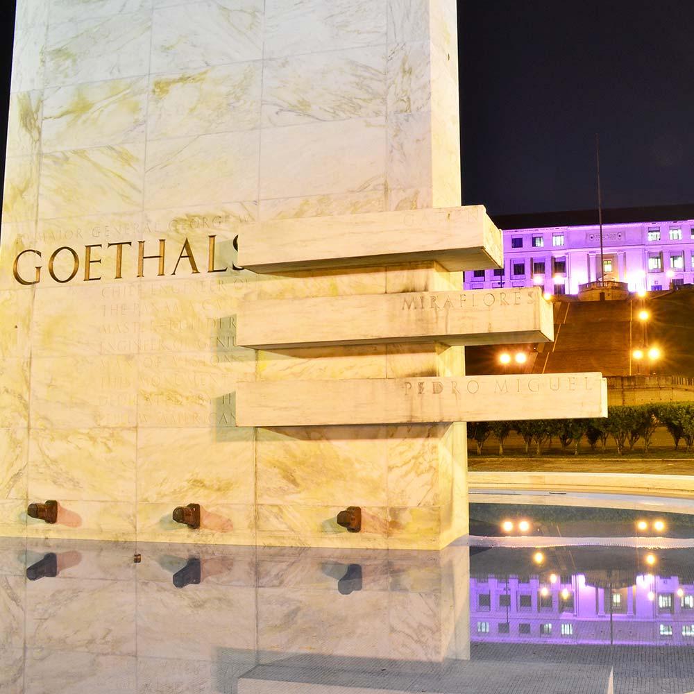 Its creation | Goethals Memorial