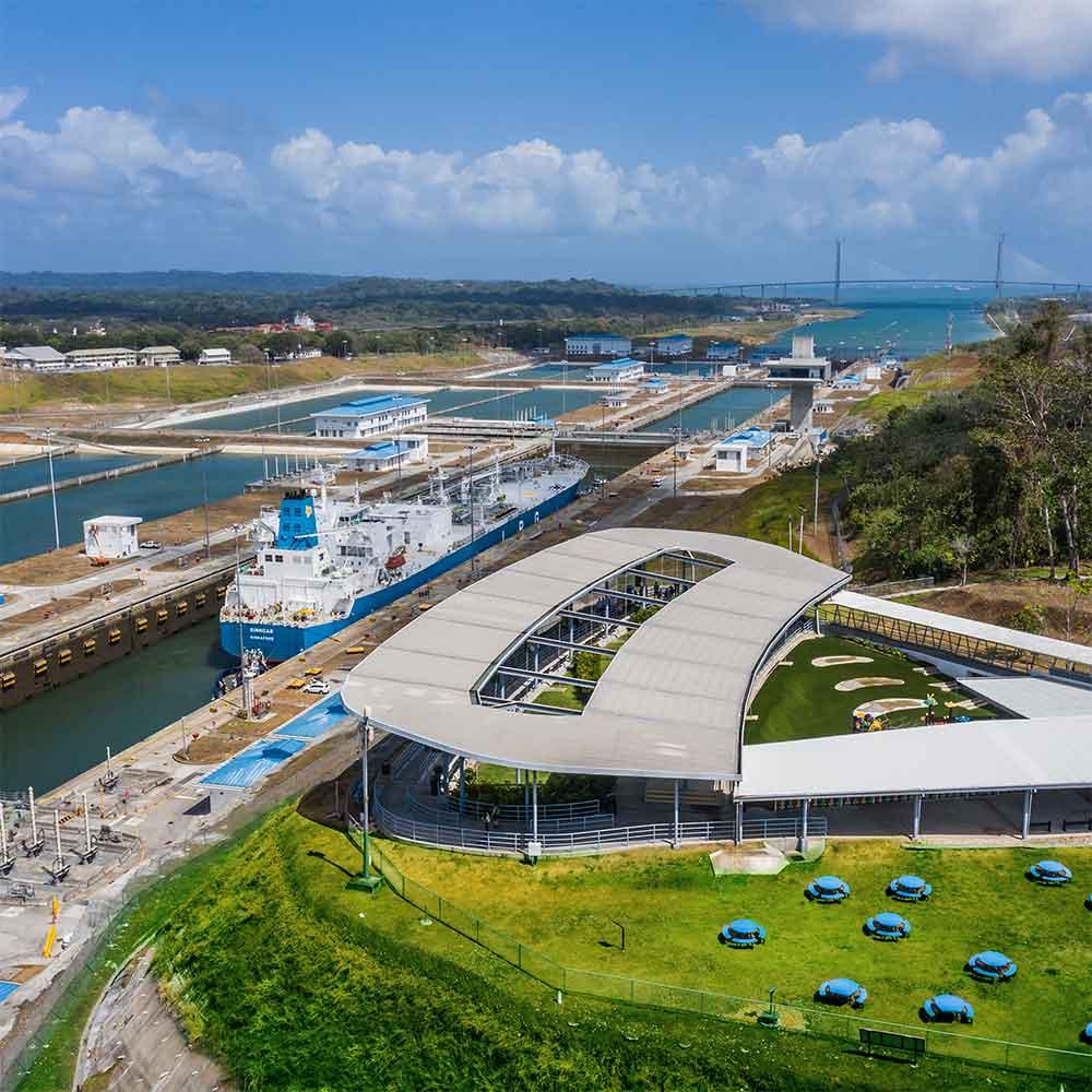 Vista panorámica   Centro de Visitantes de Agua Clara